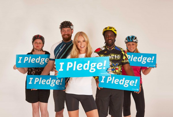 Cycle To Work Day calls on people to make pledges to cycle more.