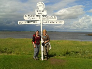 Made it to Port Carlisle, one mile to the finish line!