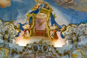 wieskirche frescos