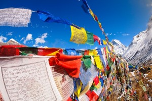Prayer flags - Annapurna