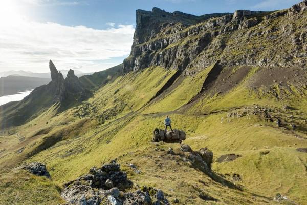 Amazing landscapes on the Isle of Skye.