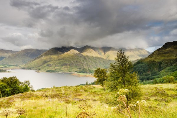 High rise scenery of Kintail.