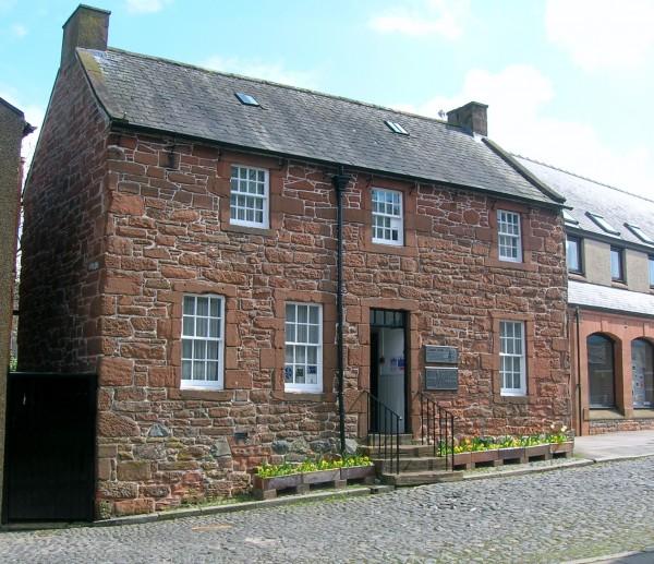 Robert Burns House in Dumfries.