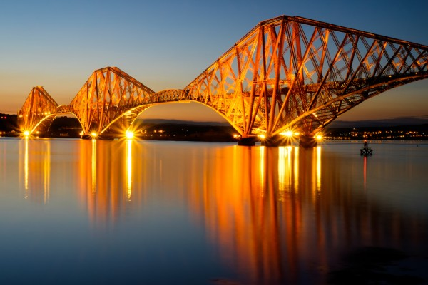 The Forth Bridge, South Queensferry.