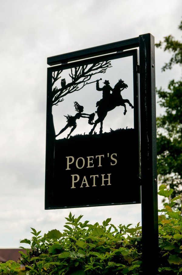 You will walk the Poet's Path as part of the Burns' Walking Trail.