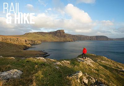 Highlands and Isle of Skye Rail and Hike