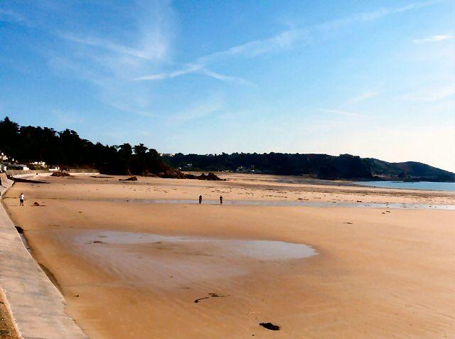 St Brelade's beach. Pic credit: Gerald England.