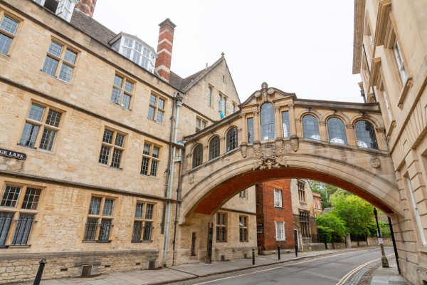 Bridge of Sighs, Oxford.
