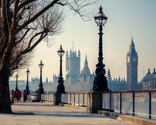 London Embankment.