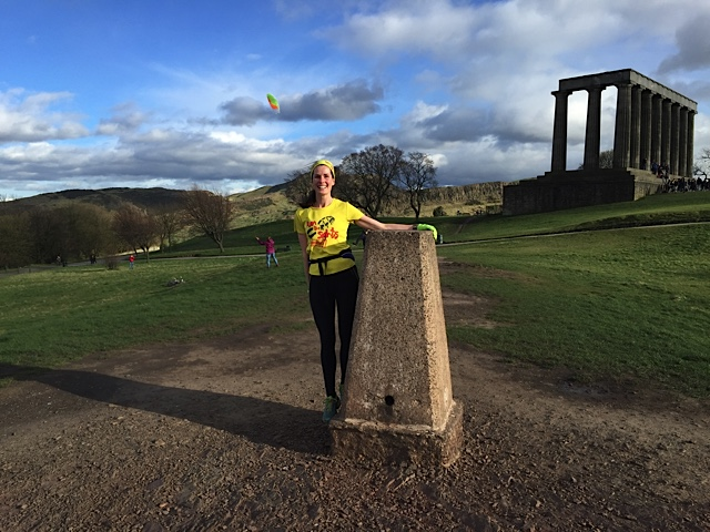 Edinburgh: Try a running tour of highlight attractions