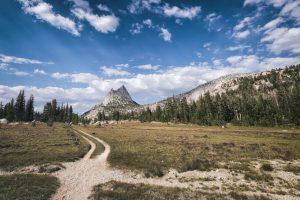 The John Muir Trail in America.