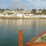 Approaching St Mawes on the ferry from Place.