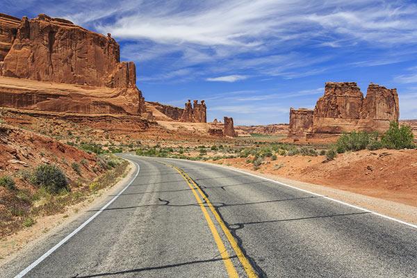 road-utah-usa