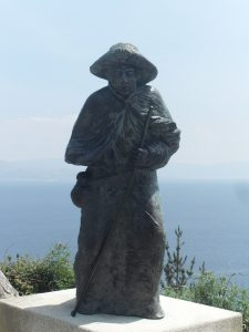 One of Many Monuments to Pilgrims in Finisterre
