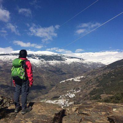 A previous winner: Houses, Snow & Clouds in Las Alpujarras