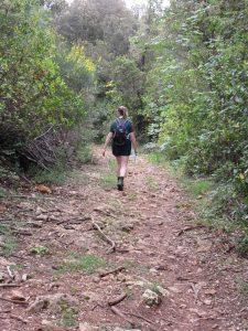Walking in Castelvecchio Nature Reserve