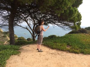 Using GPS device in the Algarve