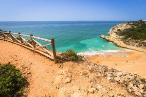 Algarve coastal view