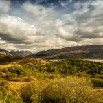 Beautiful Loch Lomond & the Trossachs NationalPark in Scotland.