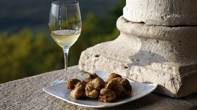 White Wine, White Truffles