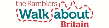 Ramblers Walk About web banner