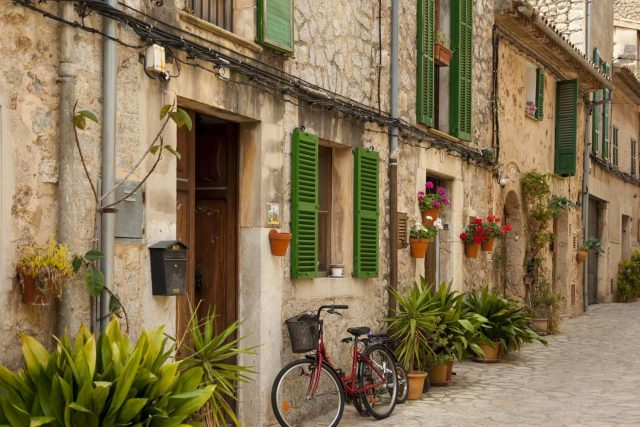 Mallorca is a hot favourite for cyclists.