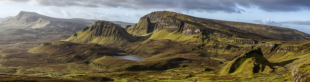 The Quirang, Skye. Pic credit: John McSporran on Flickr creative commons.