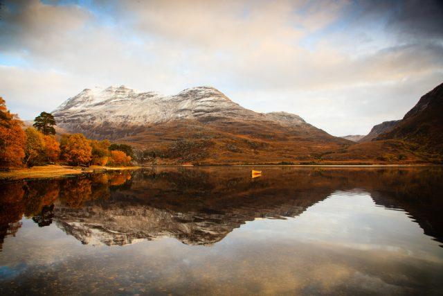 Picturesque Loch Maree.