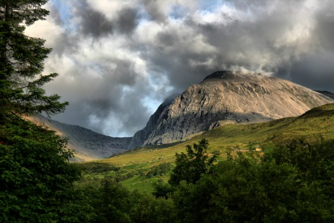 Ben Nevis is the UK's tallest mountain and also a Marilyn.