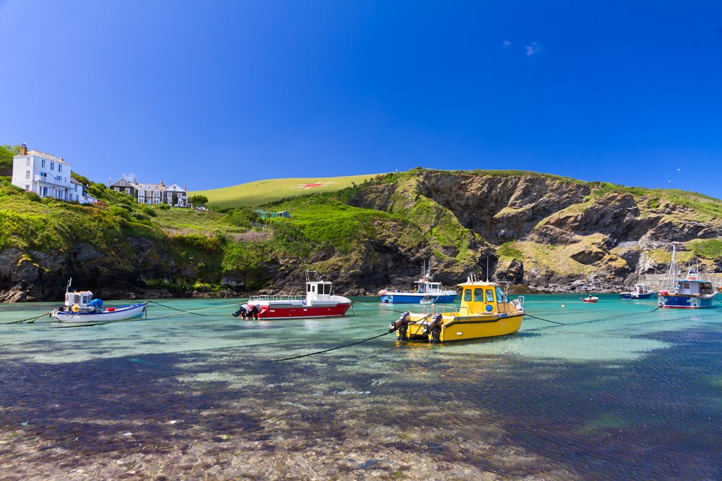 A Beautiful Cove in Port Isaac