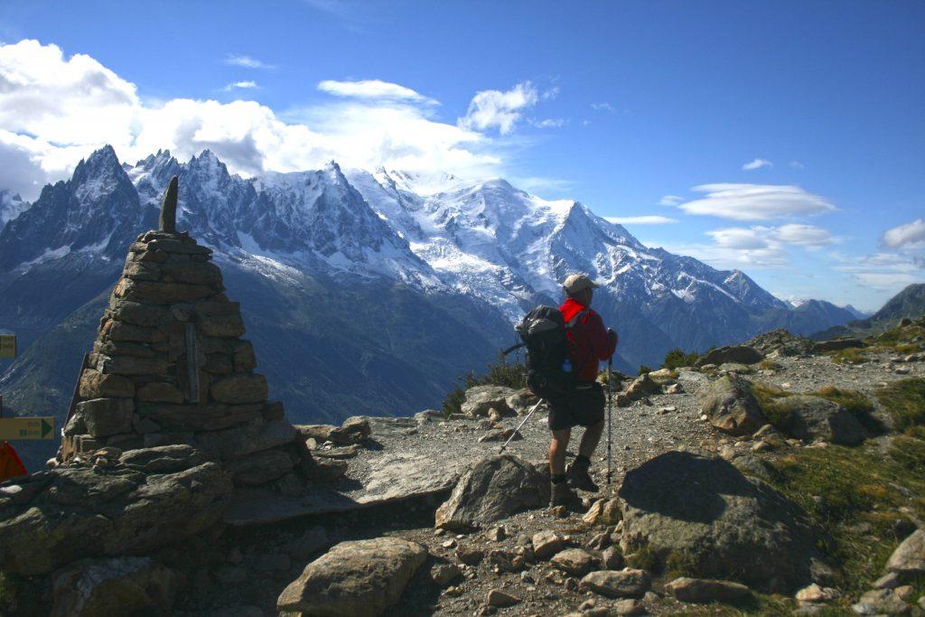 Views on the Tour du Mont Blanc