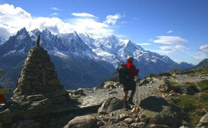 Views on the Tour du Mont Blanc