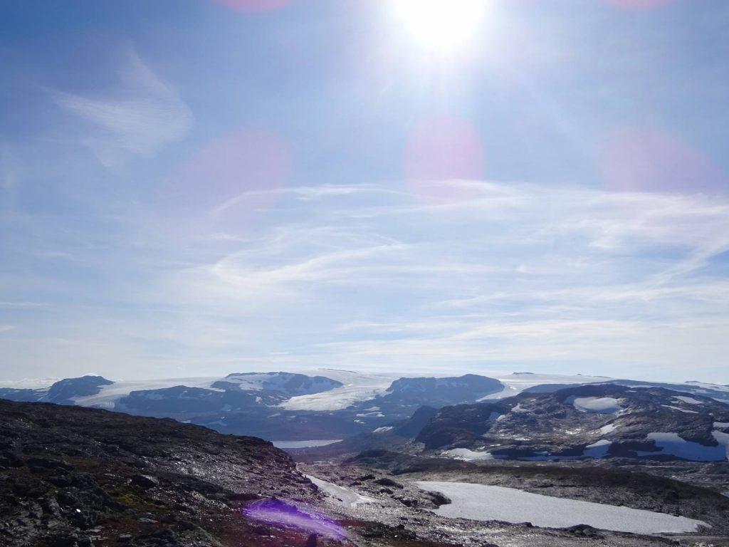The Blaisen Glacier, Norway