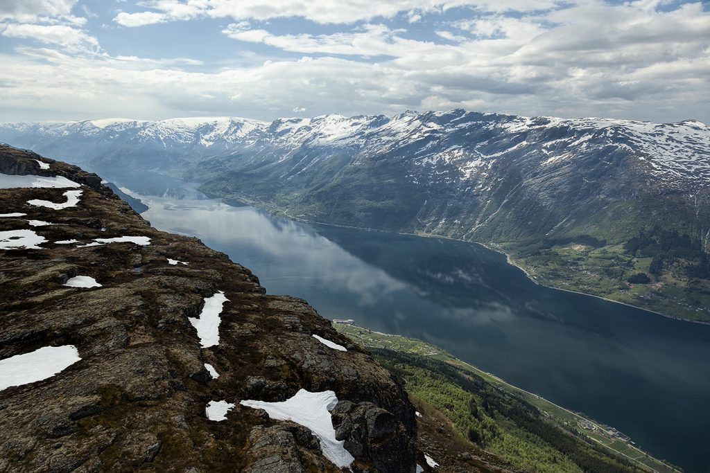 Views from the Queen Sonja Hiking Trail, Norway.