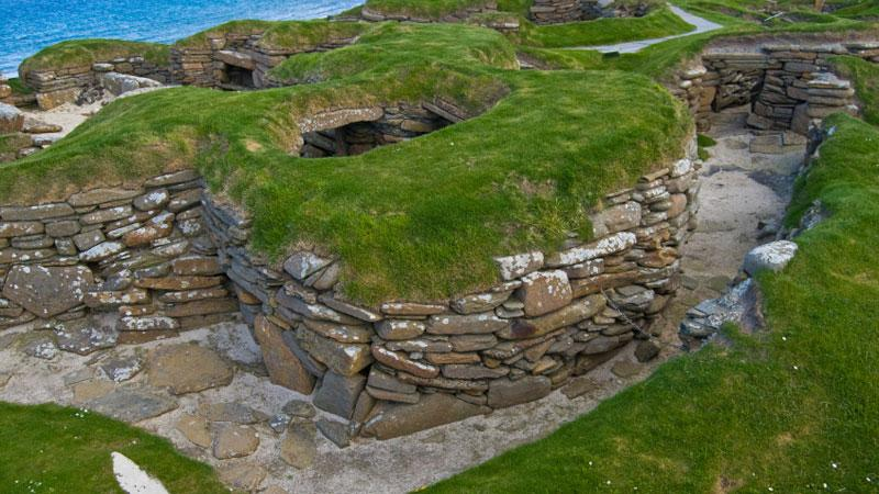 Orkney offers some amazing history attractions, such as the Stone Age village of Skara Brae.