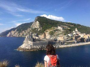 Sinead in the Cinque Terre