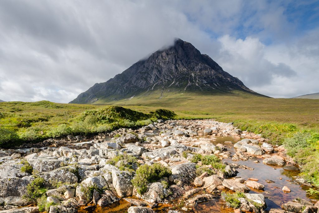 Buchaille Etive Mor, a famous sight along the WHW