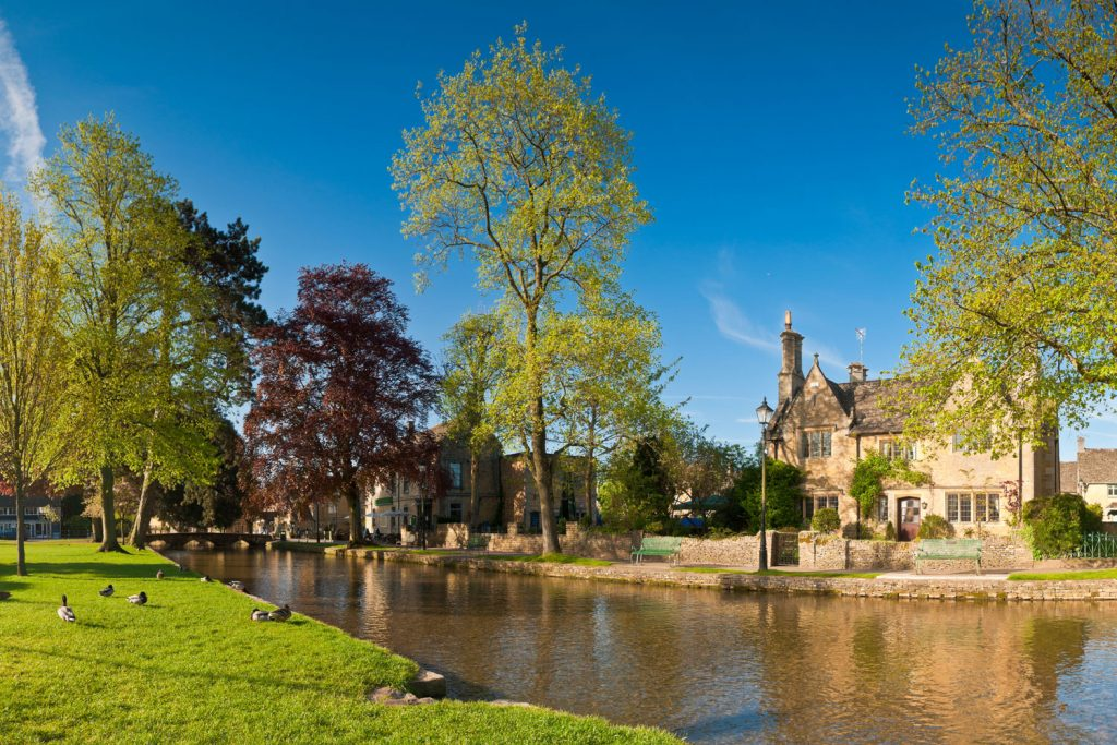 A typical Cotswolds scene