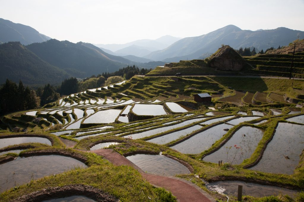 Rural Japan gives an insight into the traditional way of life