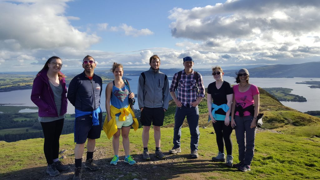 The Macs team at Conic Hill