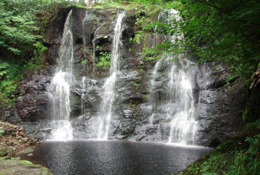 A waterfall at Glenariff