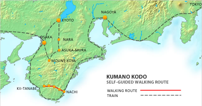 The Kumano Kodo Route