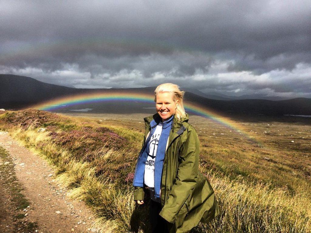 Rainbow on the West Highland Way