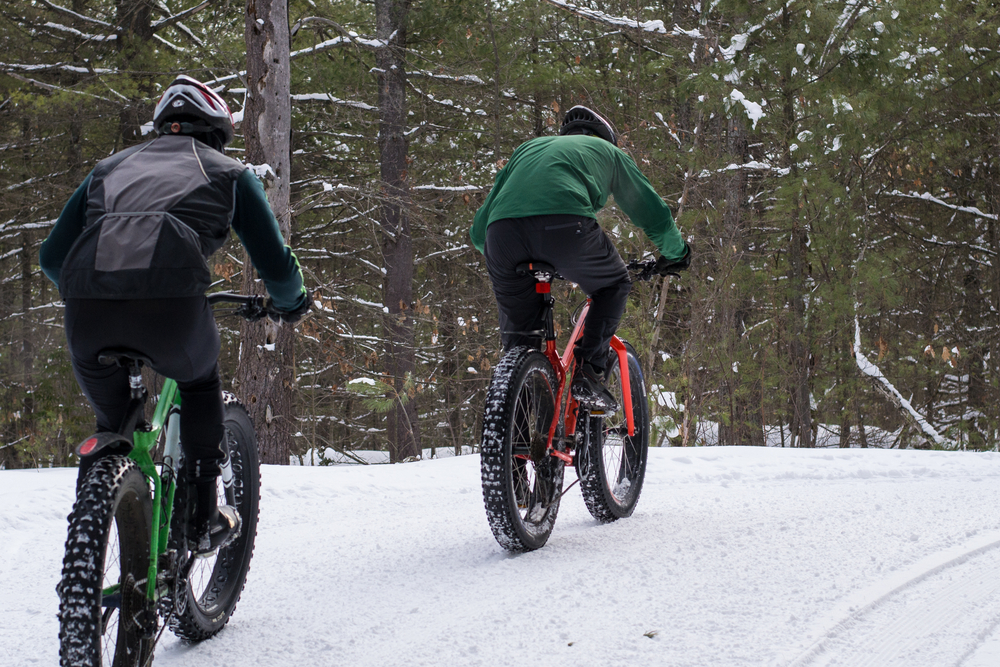 Give fat biking a try, or another winter sport.