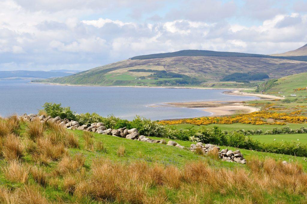 Arran's coastline.