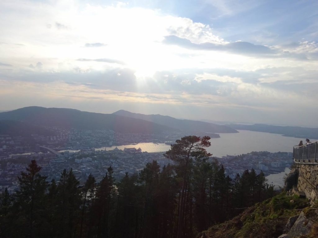On Mt Floyen above Bergen