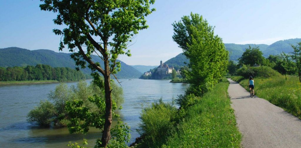 The Danube Cycle path