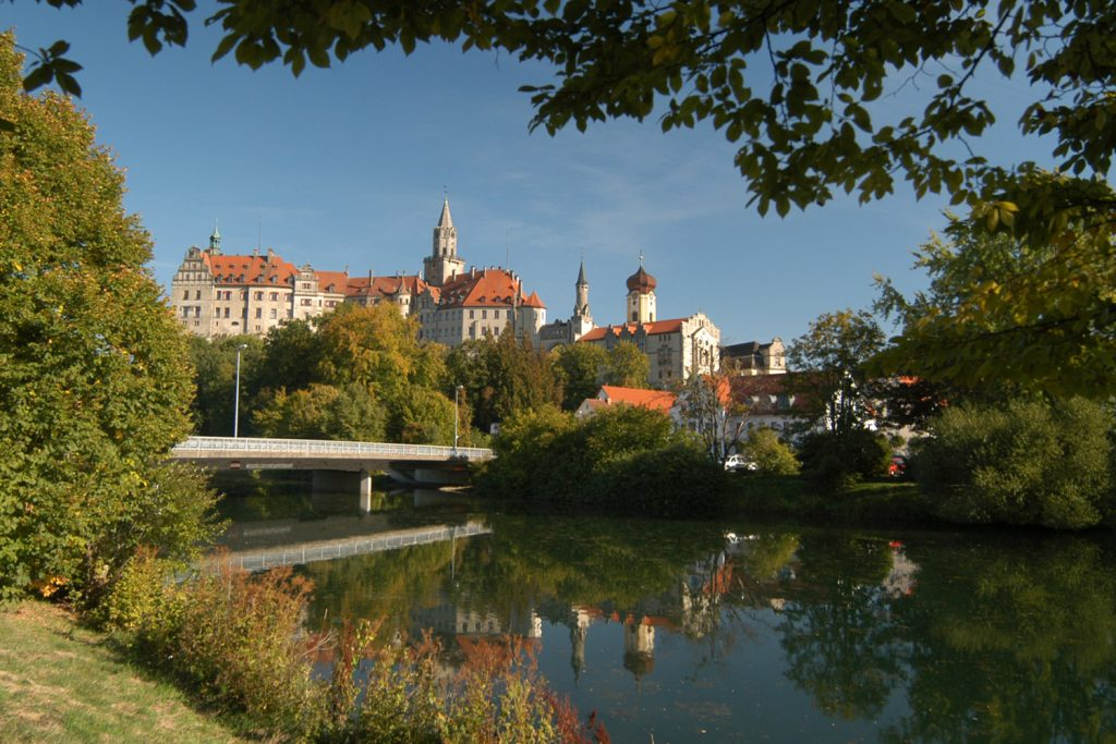 On the banks of the Danube at Sigmaringen