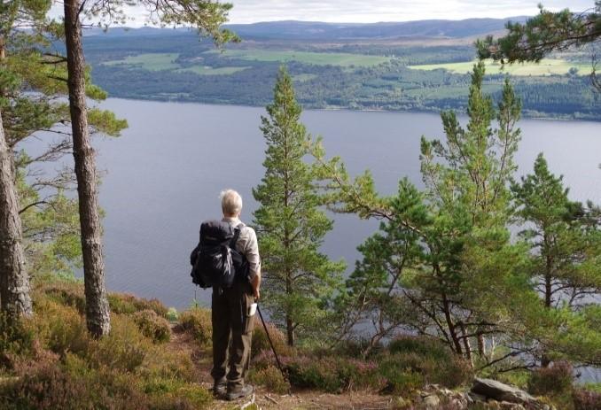 Admiring Loch Ness