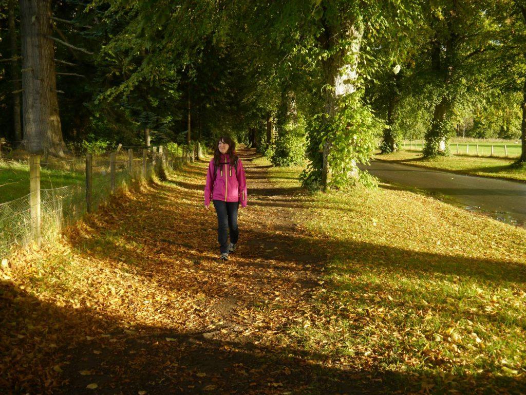 Walking Blair Atholl